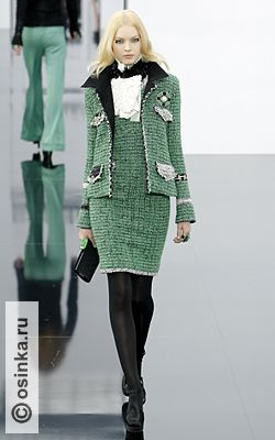 Chanel Fall 2009 Ready-to-Wear PARIS.